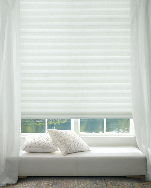 Hunter Douglas Solera Soft Shades with Layla-style Light Filtering