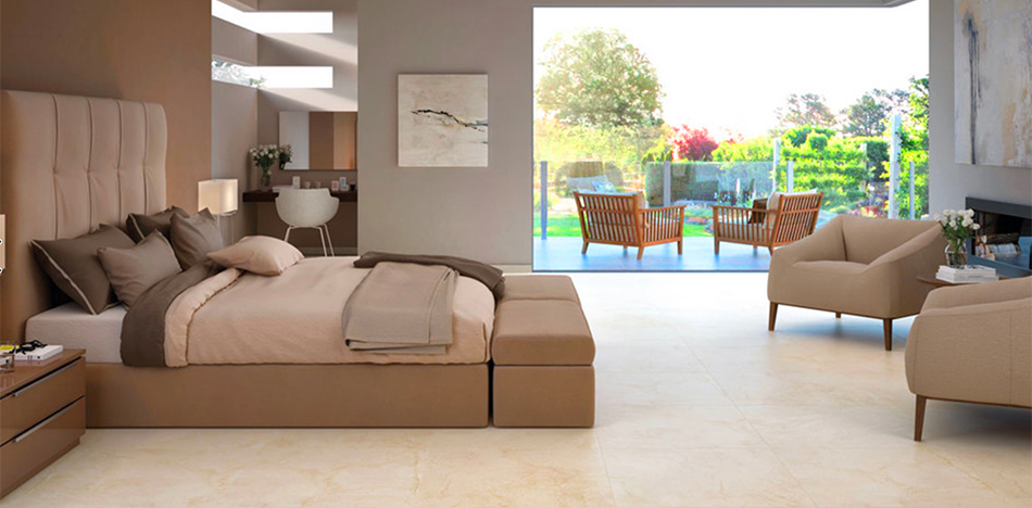 ... Porcelain Tile Bedroom And Bathroom Floor From Foster Flooring ...