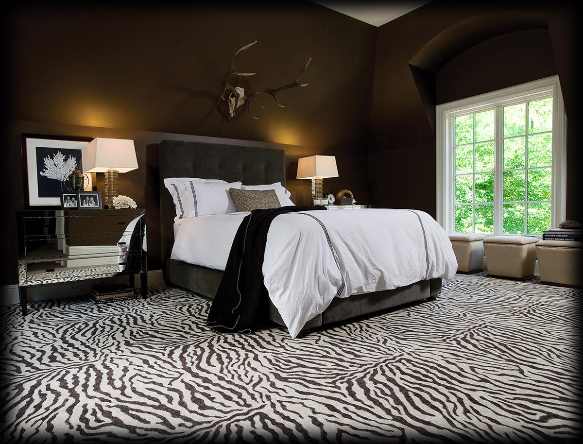 Karastan_Mystical_Zebra_Bedroom
